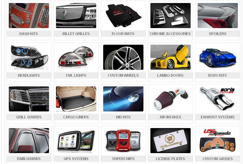 accessories vehicles on - photo #6